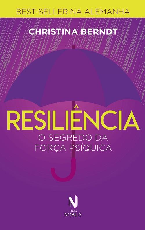 """Capa do livro """"Resiliência"""""""