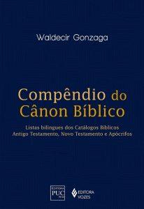 """Capa do livro """"Compêndio do Cânon Bíblico"""""""