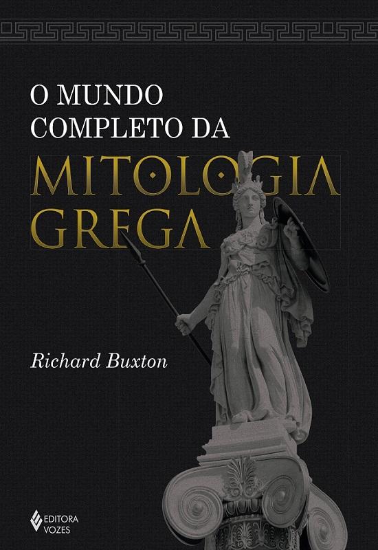 """Capa do livro """"O mundo completo da mitologia grega"""""""