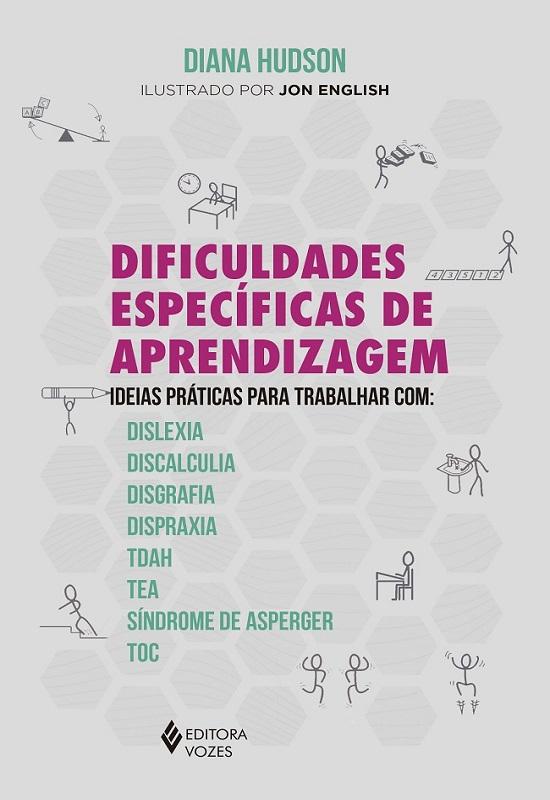 """Capa do livro """"Dificuldades específicas de aprendizagem"""""""