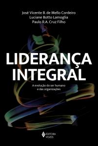 """Capa do livro """"Liderança integral"""""""