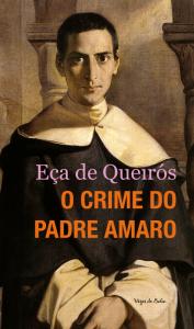 """Capa do livro """"O crime do Padre Amaro"""""""