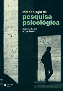 "Capa do livro ""Metodologia da pesquisa psicológica"""