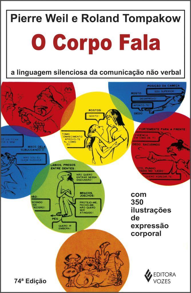 """Capa do livro """"O Corpo Fala"""""""