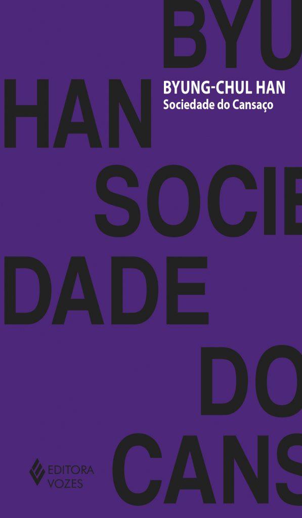 """Capa do livro """"Sociedade do Cansaço"""""""