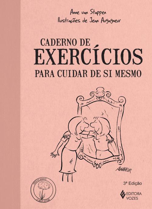 "Capa do livro ""Caderno de exercícios para cuidar de si mesmo"""